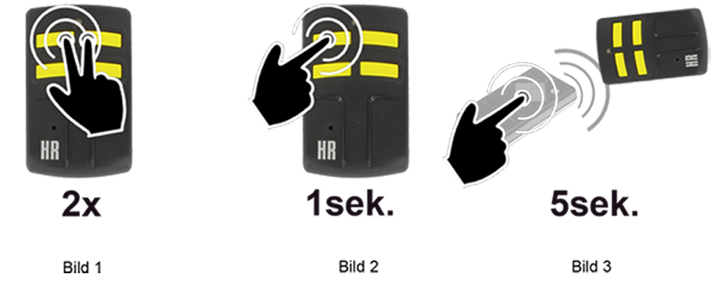 Universal-Handsender-Torix-Quartz-Anleitung